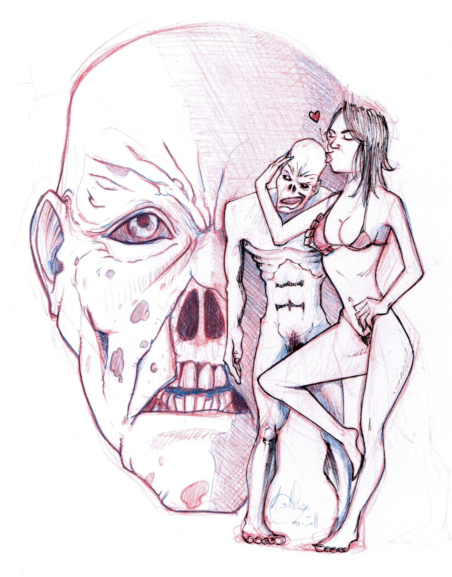 Zombie du jour les bd de mo - Zombie dessin ...